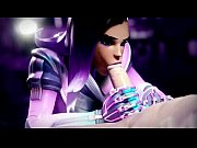 sombra mamada invisible - overwatch animation.