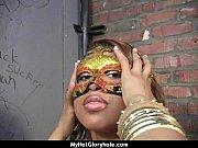 Gloryhole blowjob interracial amateur 17