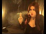 smoking shemale t-girl michelle love pleasuring herself smoking.