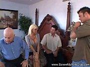 Порно с сексуальной грудастой блондинкой