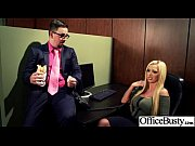 Office Slut Girl (courtney nikki nina summer) With Big Tits Love Hard Bang clip-16