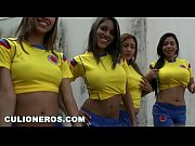 culioneros - sexy latina soccer players with big.