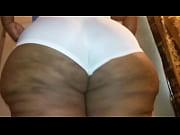 big azz in spadex panties