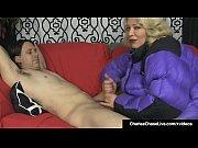 Mega Milf Charlee Chase Gets A Load Of Cum On Puffy Jacket!