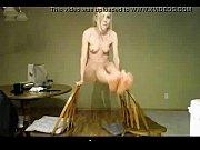 dancing blonde in a webcam uglycams.com