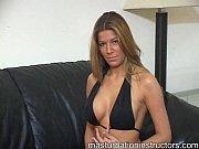 sexy jerk off teacher shows off her curves.