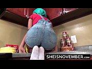 step sister corner in kitchen cumshot hot load.