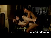 Hot twink He&#039_s been lured into the attic by insatiable dark dude