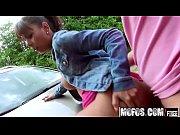 (Isabella Christyn) - Sex Outside Ebony Cutie - Stranded Teens