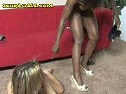 ebony lesbian girl dildos white babe