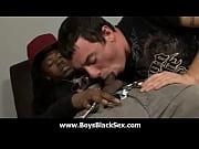 Blacks Thugs Breaking Down Hard Sissy White Boys 04