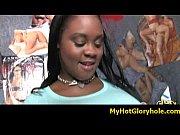 myhotgloryhole.com - interracial cock gloryhole sucking - video 8