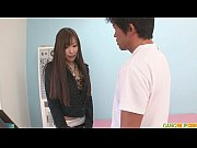 A hot asian girl blowjo...