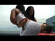 bigass ebony babe enjoys ass to.