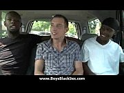 Black sexy gay boys bang white studs 23 Thumbnail