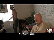horny ebony bukkake gangbang 18