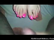 cum on wifes feet