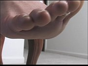 ebony tease smell my feet