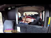 female fake taxi sexy englishman pays for czech.