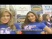 Las chicas Car audio vestidas de jean y su camisa oficial  -- SSRTV 02.05.11