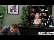 office sex tape with slut worker busty girl vid-20