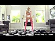 Neon Babe Natalia Starr Butt Plugs Ass &amp_ Dildo Fucks Pussy!