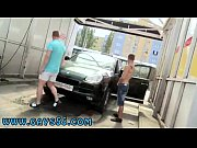 Rude black men gay porn movies Anal Fucking At The Public Carwash!