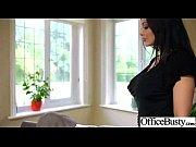sex action in office with big juggs slut.
