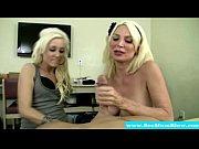 blonde milfs sucking on the same.