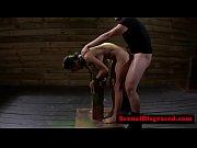 Jasmine Caro gets bonded and throat ravaged