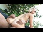 girlyflirts.com - blonde milf rides a dick outdoors.