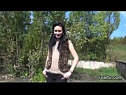 Breathtaking czech chick gets seduced in the mall and rode in pov