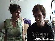Amateur girlfriend fucks with cumshot on her hot ass