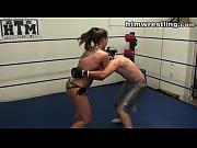 She Fights Like a Beast - Femdom MMA Beatdown