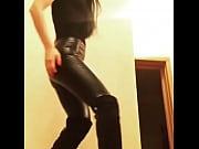 leather leggings short #1