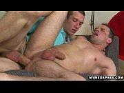 Balls deep uncut big cock bareback anal action
