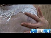hot babe stripping off and masturbating