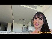 Venezolana tranny beauty taking sexy shower