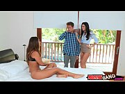 India Summer and Eva Lovia horny 3some