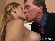 русская блондинка и раб