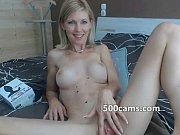blonde cam girl masturbates pussy -.