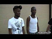 blacks on boys bareback gay hardcore fucking video 01