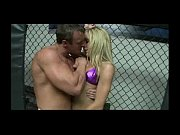 blonde riding cock on the ring