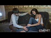 секс с курящей и в очках видео