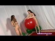 Office Sluts Popping Big Balloons