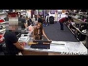 Some sex in shop is filmed