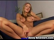 blonde ryana is playing with her own tight pussy