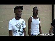 blacks on boys - bareback gay interracial hardcore.