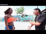 black tranny babe taking anally sex