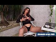 shemale Samantha Puglies fetish smoking @ shemale-orgy.club